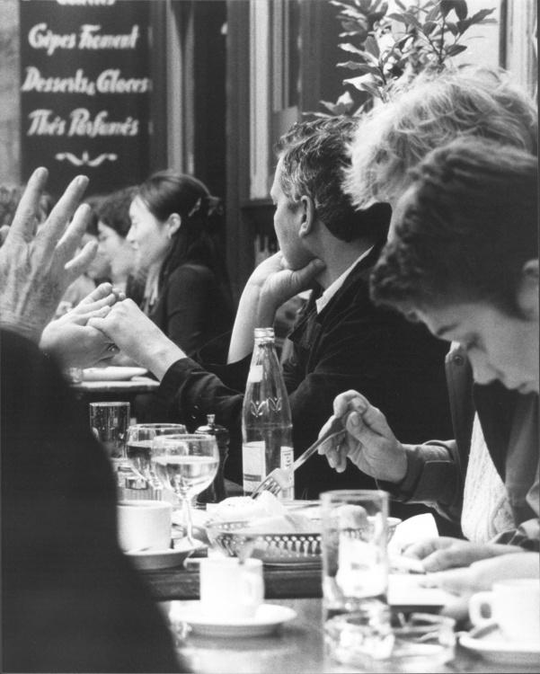 Lee Buchanan, amor vincit ominia : Paris, Black & White, rc paper, 10