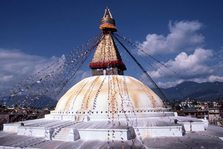 Patrick Klauss, Bodhnath Stupa, Nepal