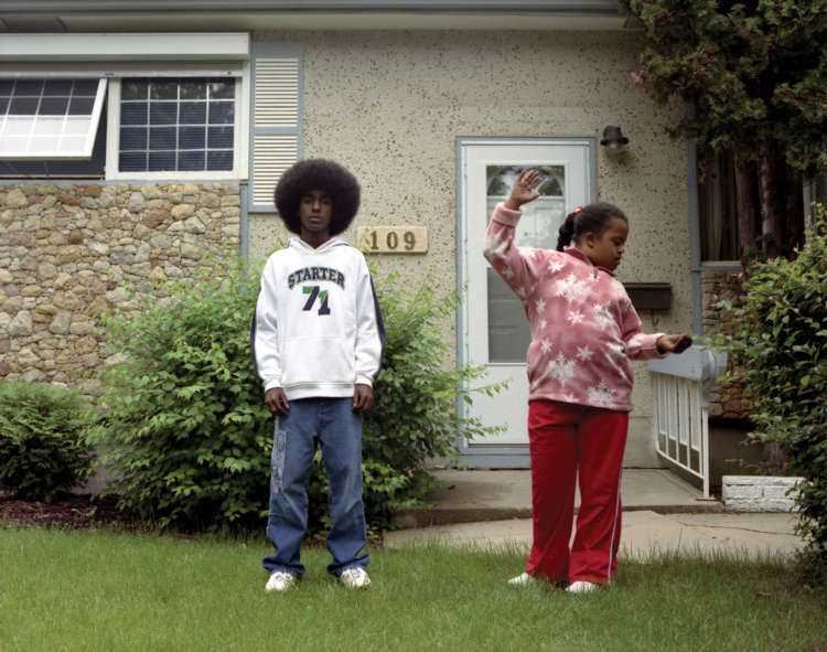 """Dawit Petros, Untitled (Two), 2005, from the series Reinscriptions, C-Print, 30"""" x 40"""""""
