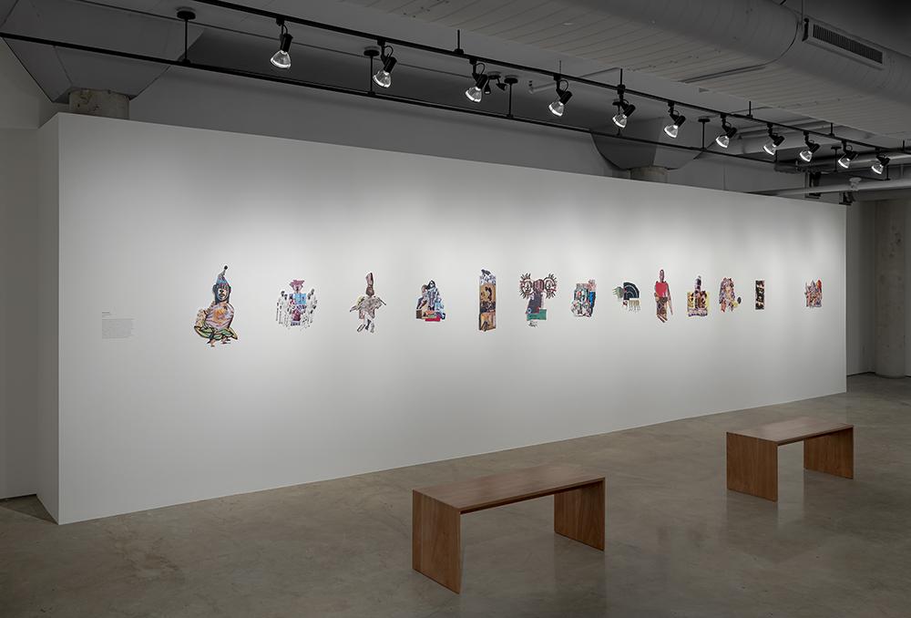 Aaron Jones, Seeing Knowledge, 2020. Installation view, Doris McCarthy Gallery. Courtesy of the artist and Doris McCarthy Gallery. Photo: Toni Hafkenscheid.