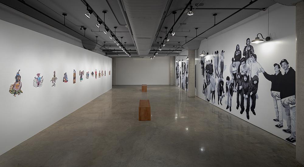 Three-Thirty, 2020. Installation view, Doris McCarthy Gallery. Courtesy of the artists and Doris McCarthy Gallery. Photo: Toni Hafkenscheid.
