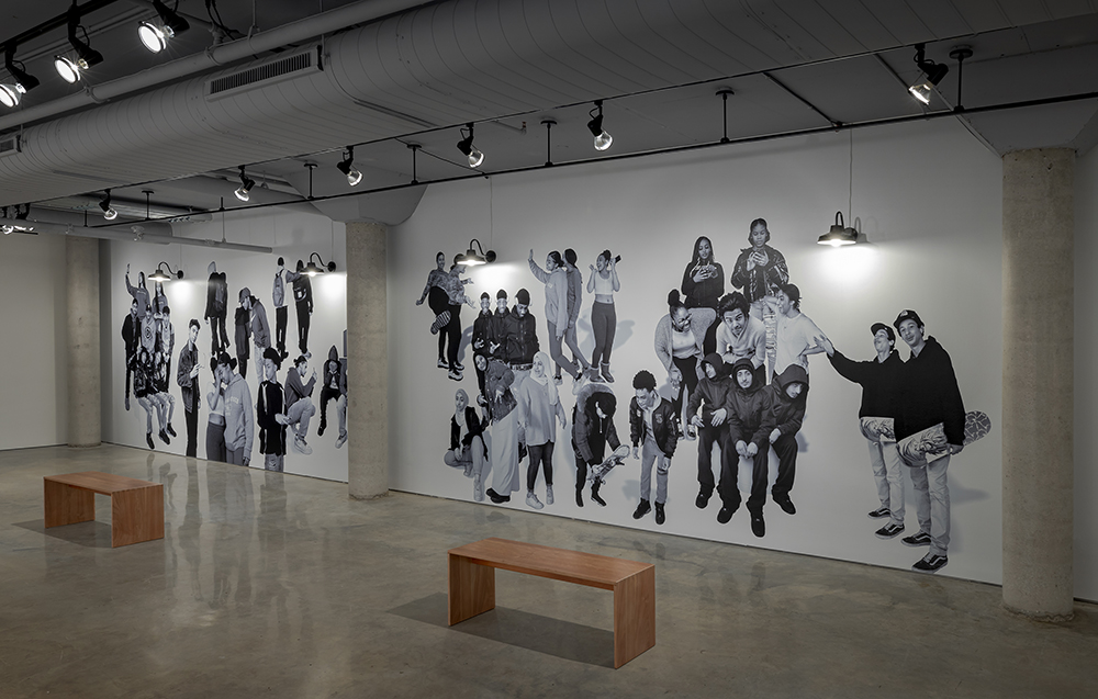 Ebti Nabag, The Bubble of Youth, 2020. Installation view, Doris McCarthy Gallery. Courtesy of the artist and Doris McCarthy Gallery. Photo: Toni Hafkenscheid.