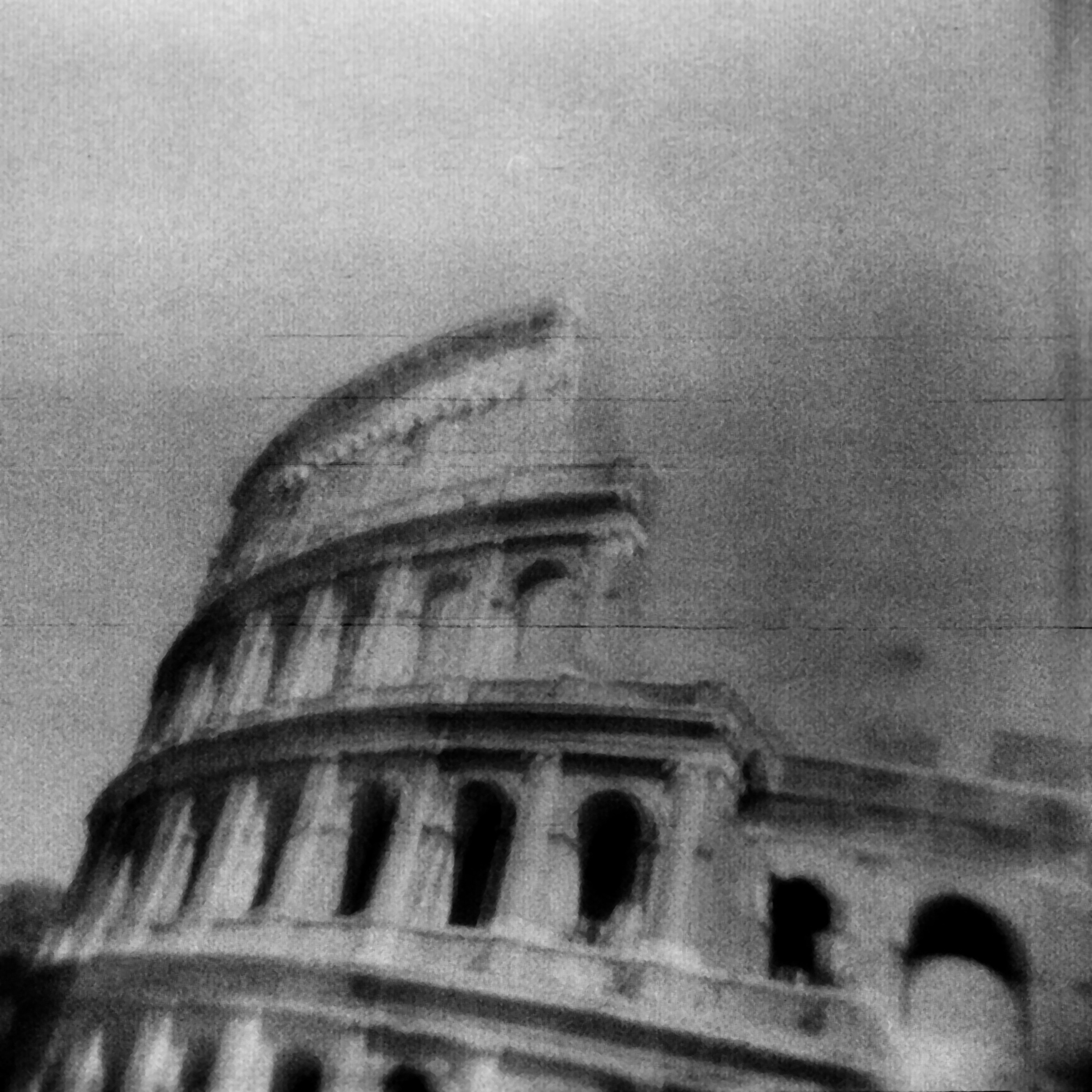 Anthea Baxter-Page, Colosseum, Rome, from the Ghost Towns series, 2006