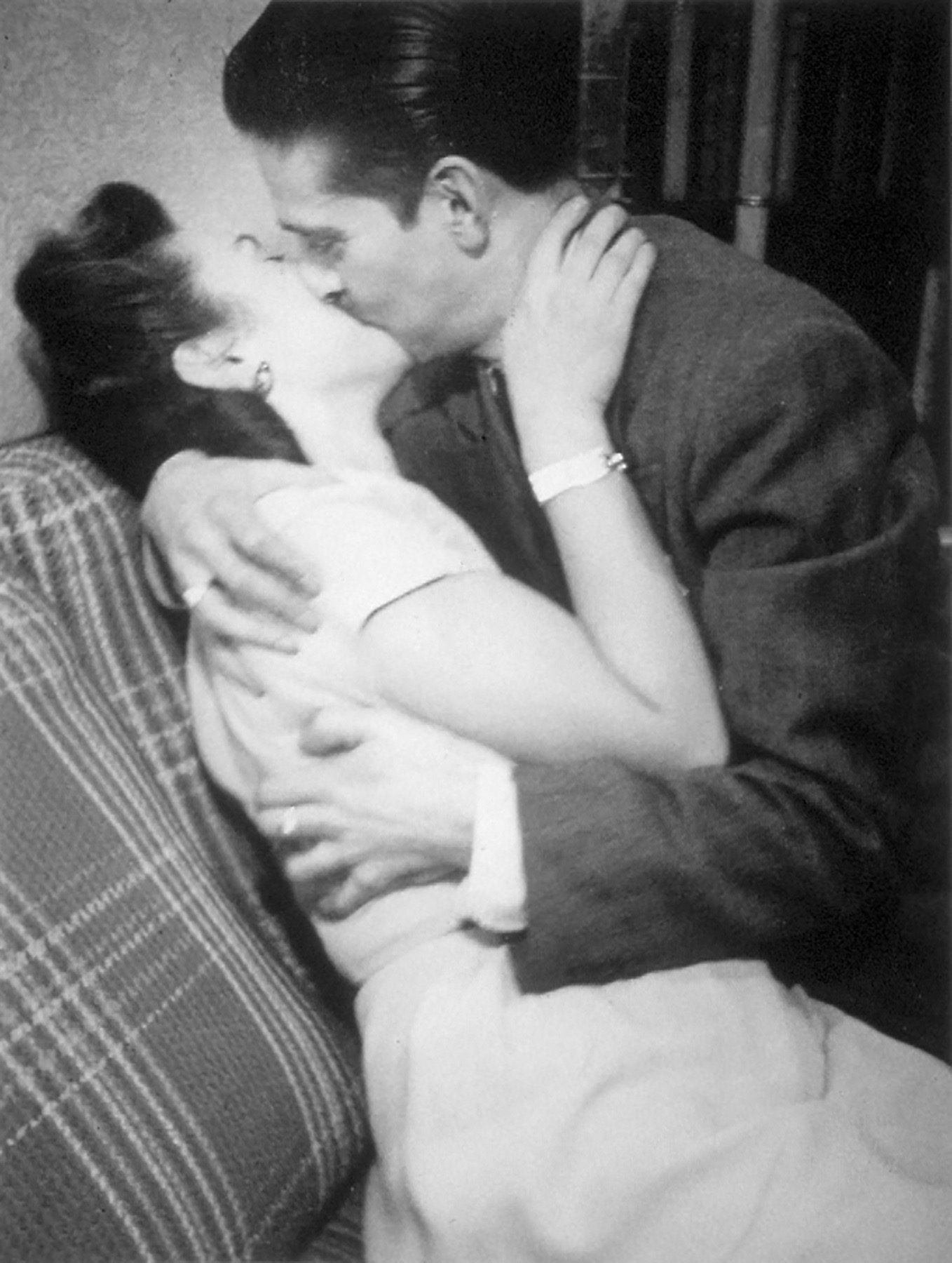 Irving Fistell, The Kiss, circ 1940's- 50's