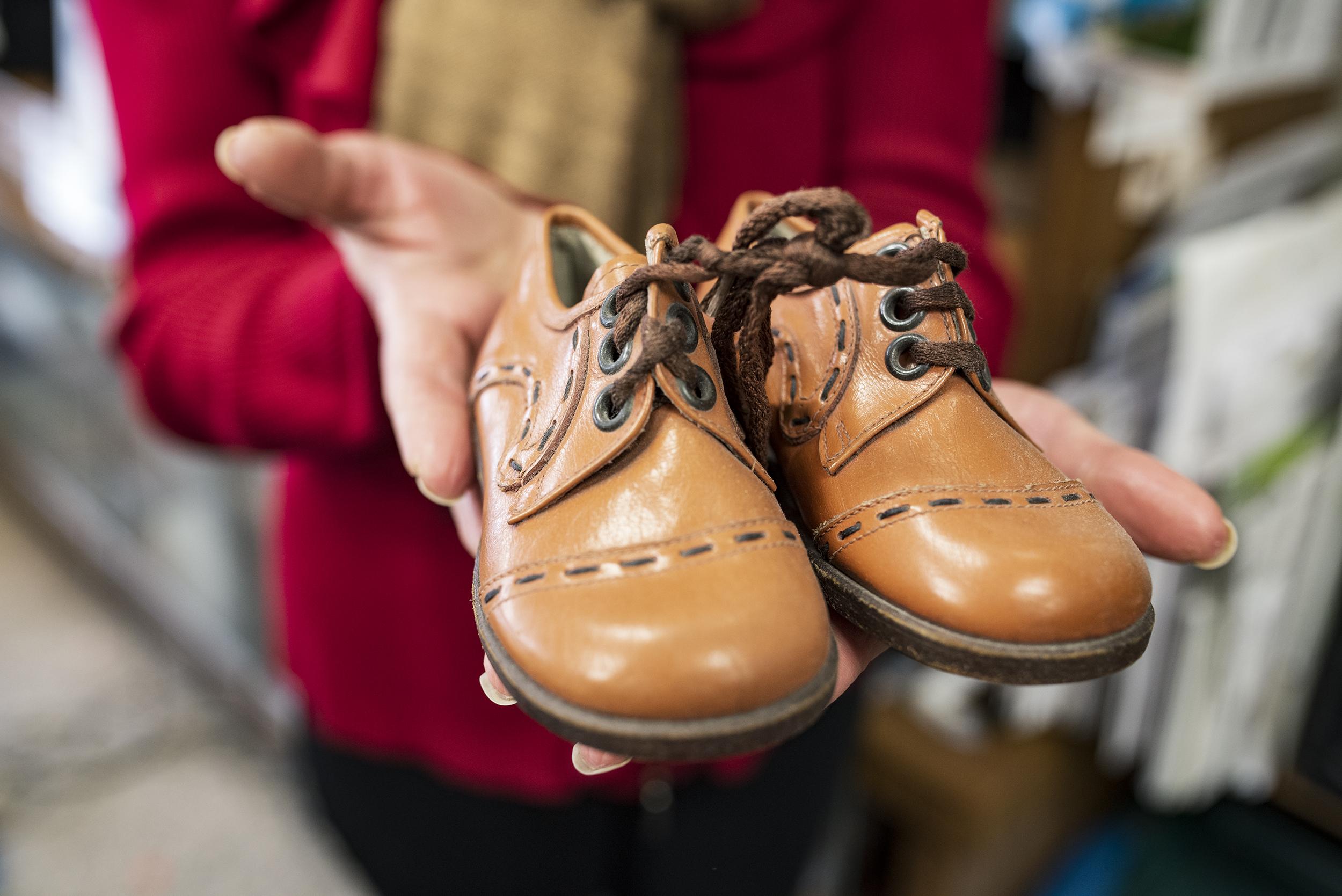 Henry VanderSpek, Dino Shoes, 2018