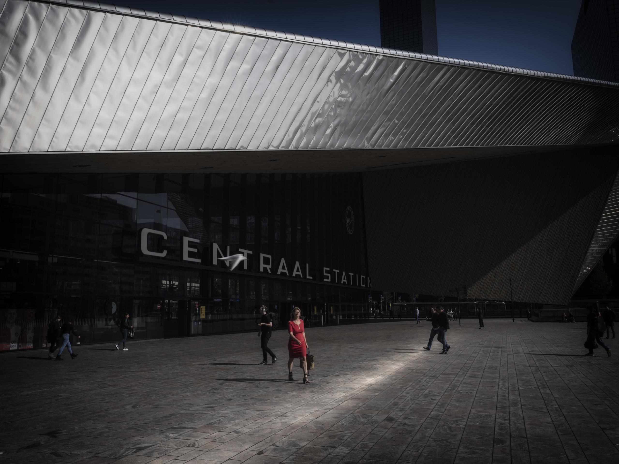 Jason van Bruggen, Rotterdam Centraal Train Station, 2020