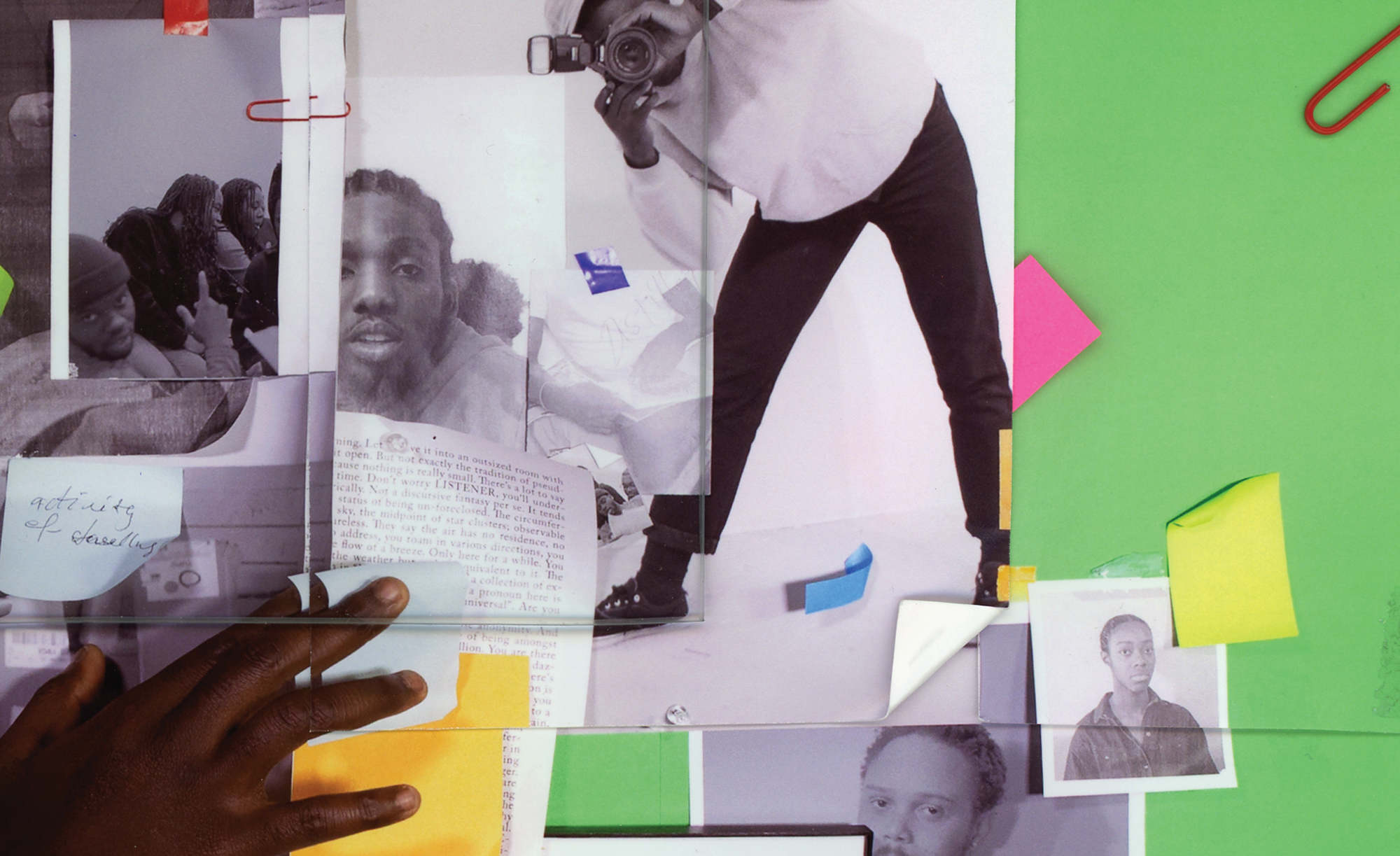 Luther Konadu, Figure as Index #2, 2020. Courtesy of artist