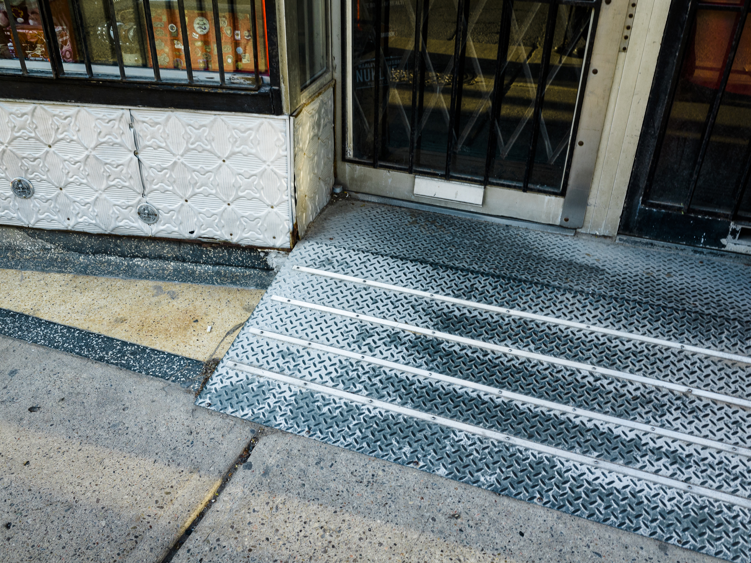 Atanas Bozdarov and Craig Rodmore, Every Ramp on Queen Street West (large metal), 2020