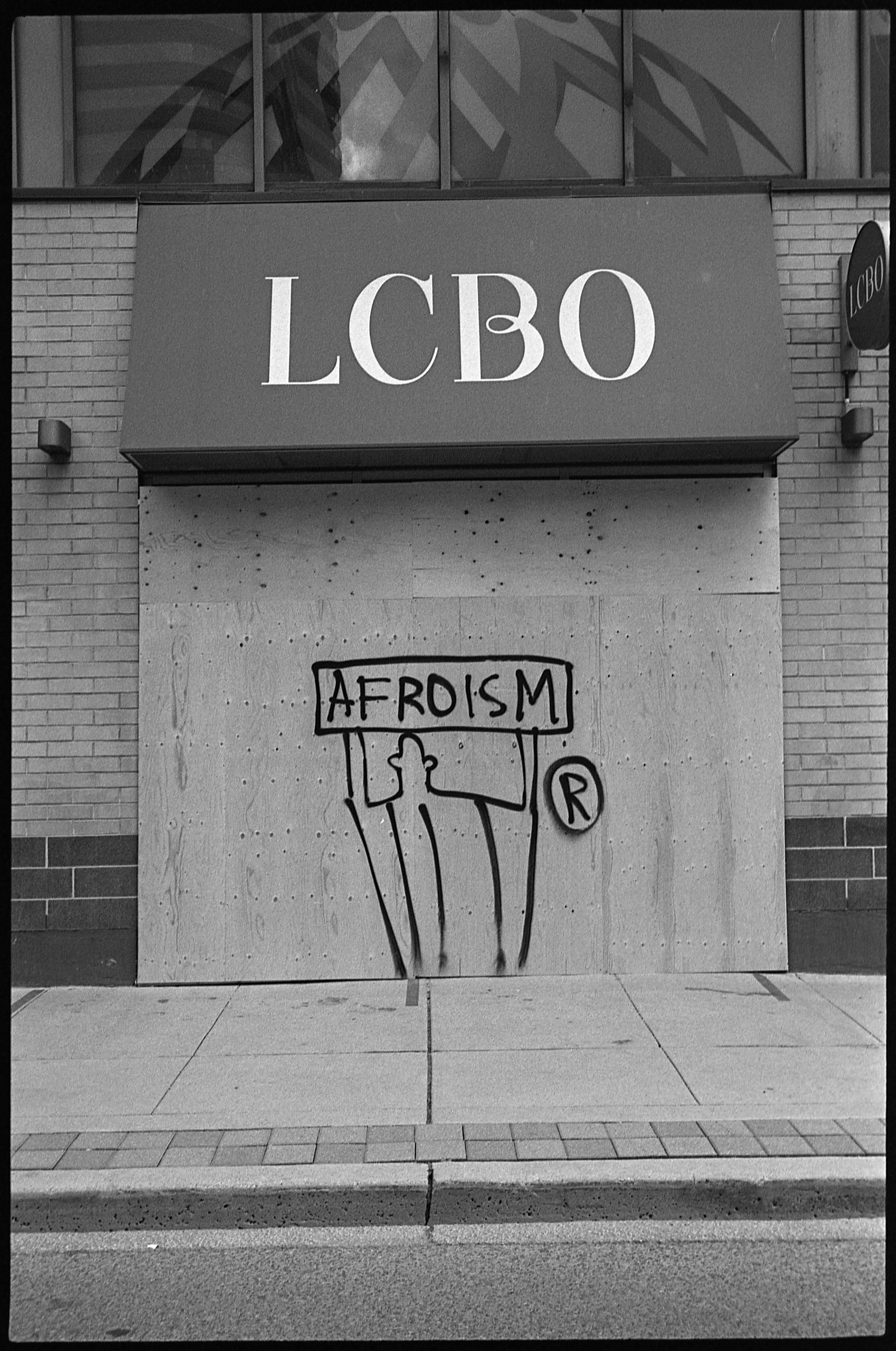 Bidemi Oloyede, Afroism, Toronto, June 2020, from the series Not Another Black Life. Courtesy of the artist