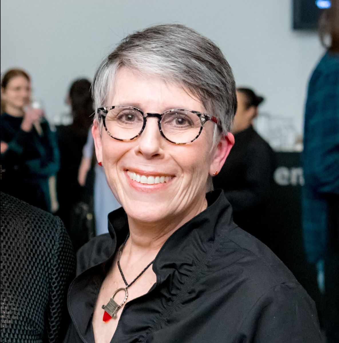 Bonnie Rubenstein at the CONTACT launch party, Ryerson Image Centre (RIC), 2019. Courtesy of the RIC, photo: © Clifton Li., 99f88b7d-903e-959c-425f-ec2caf07460c