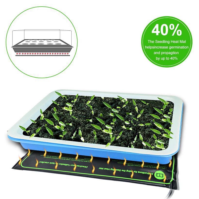 make planting seed heat and quicker diy mat mats starter easier starting seeds cheaper to hacks