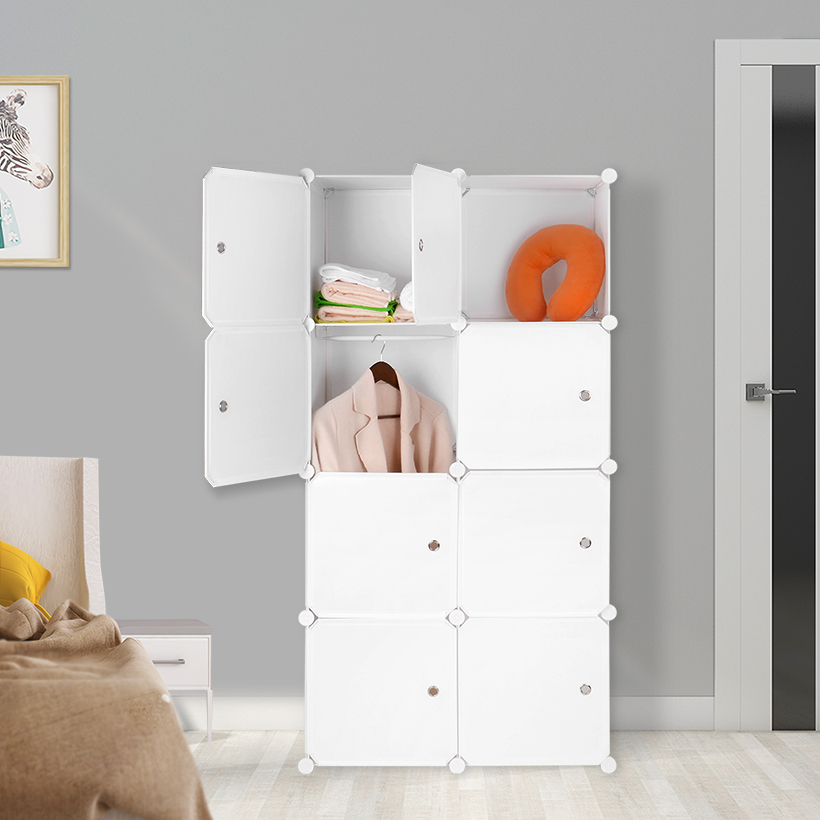 Superieur 1 Hanging Sections And 5 Storage Cubes Offer You Extra Space For Heavy  Outfits, Folded Clothes And Belongings. Each Cube Supports Up To 22 Lbs.