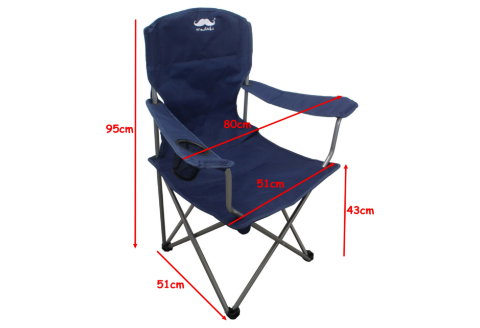 Breathable Mesh Polyester Fabric Camping Chair