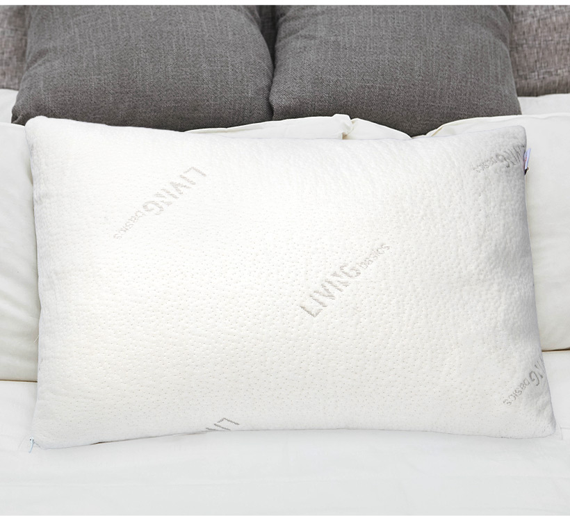 Shredded Memory Foam Pillow With Washable Removable Cooling Cover Adorable Pillow That Covers Your Head