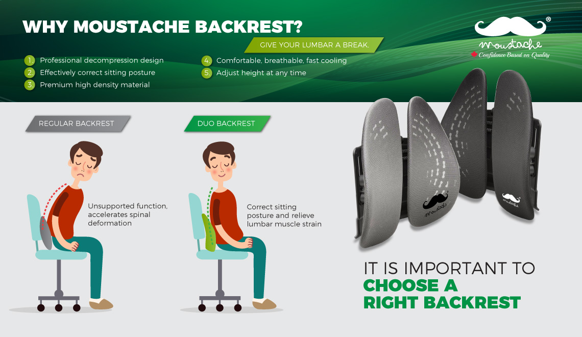Ergonomic Backrest Support