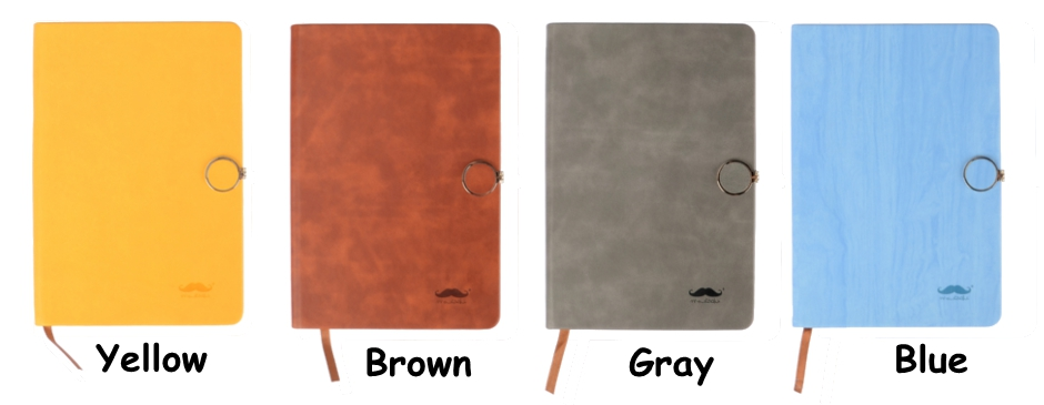 Notebook with Magnetic Buckle - Moustache®