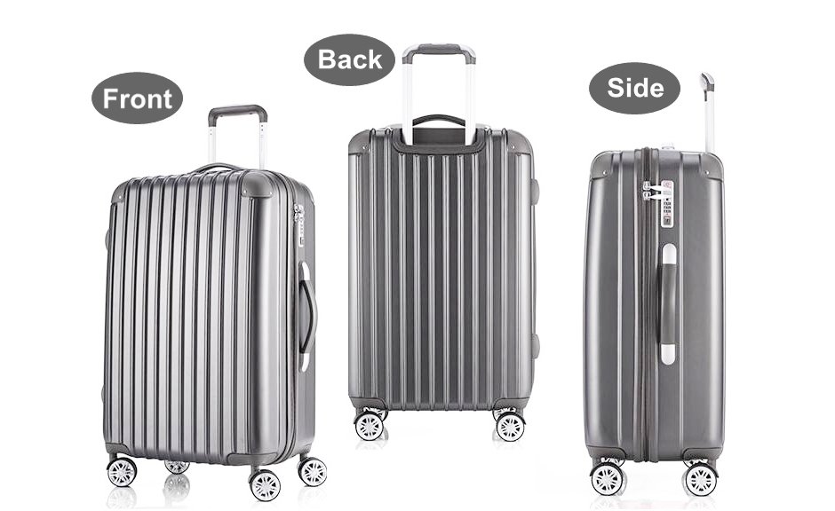 Hardside Lightweight Spinner Luggage Sets