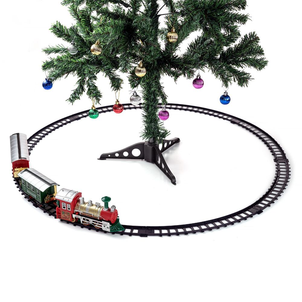 Christmas Train Set Realistic Train Sound And Head Light ...
