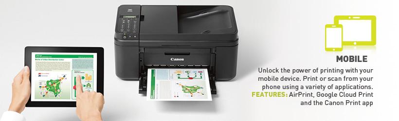 Canon PIXMA MX492 All-In-One Color Inkjet Printer