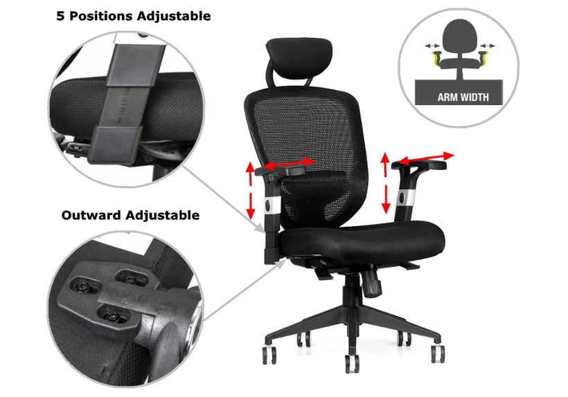 this office chair is designed for commercial use such as executive offices conference and meeting rooms and general