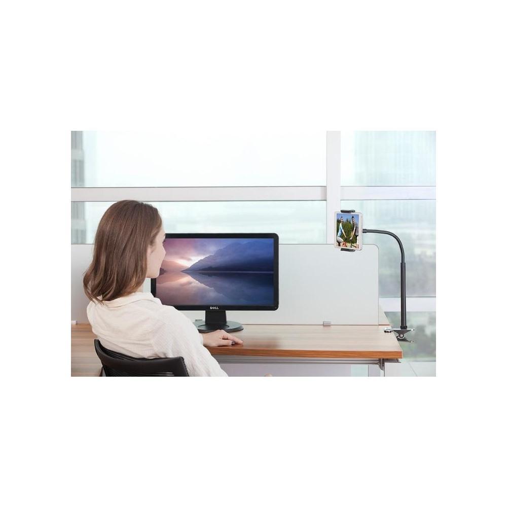 Kitchen Tablet Holder Universal 5 7 Adjustable Hands Free Tablet Clip Holder For