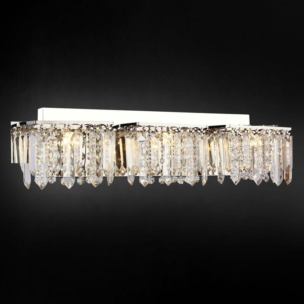 100 Bathroom Crystal Light Fixtures 15 Amazing