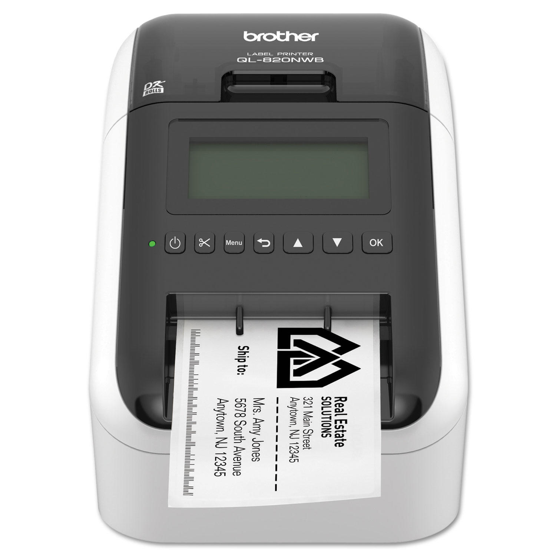 Brother QL-820NWB Wireless Bluetooth Label Printer