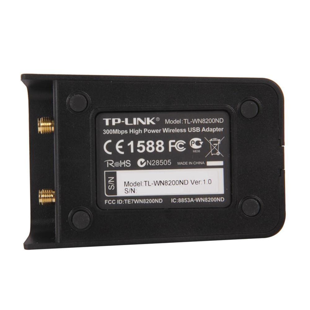 Tp Link Tl Wn8200nd Adaptateur Usb Sans Fil Haute Puissance De 300mbps High Power Adapter