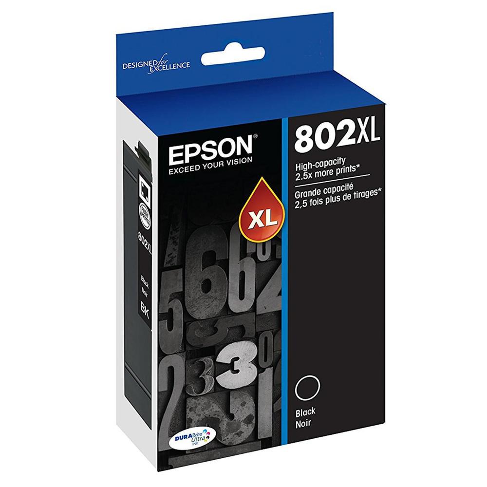 Tinta Printer Hp 802 Xl Black Original Referensi Daftar Harga Gt 51 Epson Durabrite Ultra Ink Cartridge High Yield T802xl120