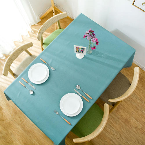 Table Cover Tablecloth Rectangle Vinyl Heavy Weight Wipe Clean Oil Proof  Waterproof   LivingBasics™ | Living.ca Canada