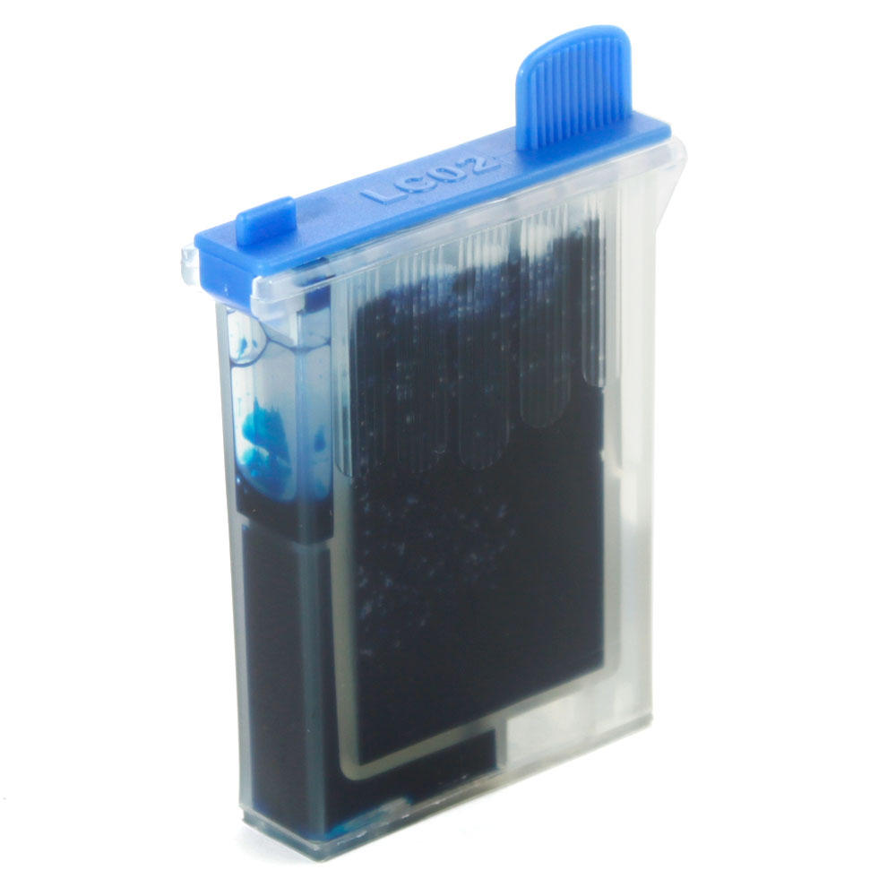 Brother LC02C Compatible Cyan Ink Cartridge