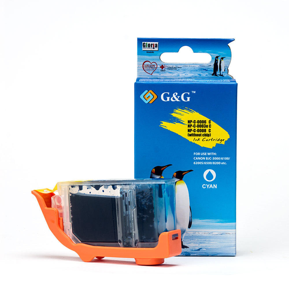 Canon BCI-3eC Compatible Cyan Ink Cartridge - G&G