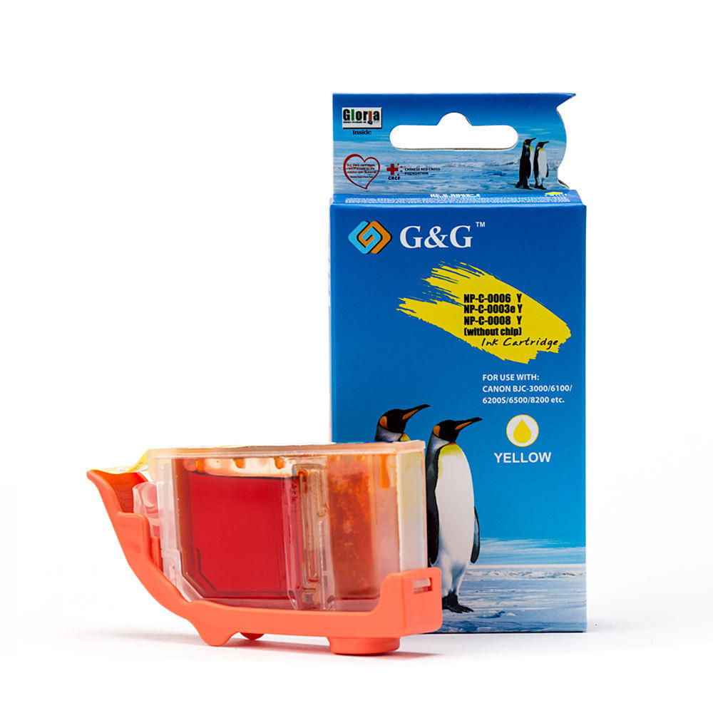 Canon BCI-3eY Compatible Yellow Ink Cartridge - G&G