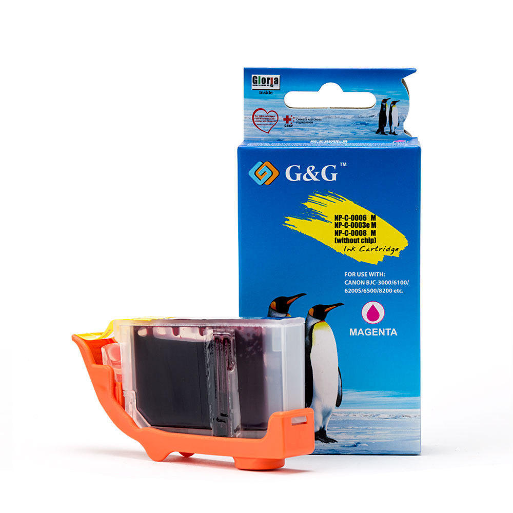 Canon BCI-6M Compatible Magenta Ink Cartridge - G&G