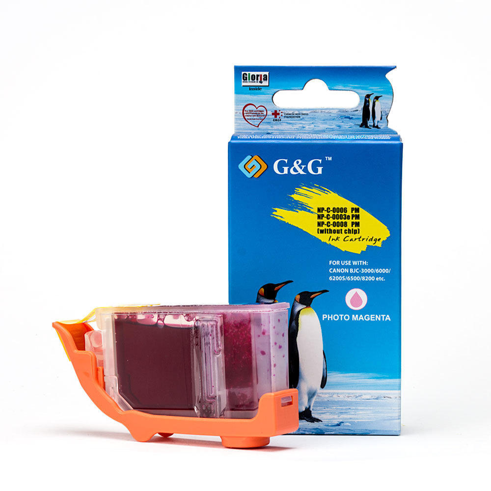 Canon BCI-6PM Compatible Photo Magenta Ink Cartridge - G&G