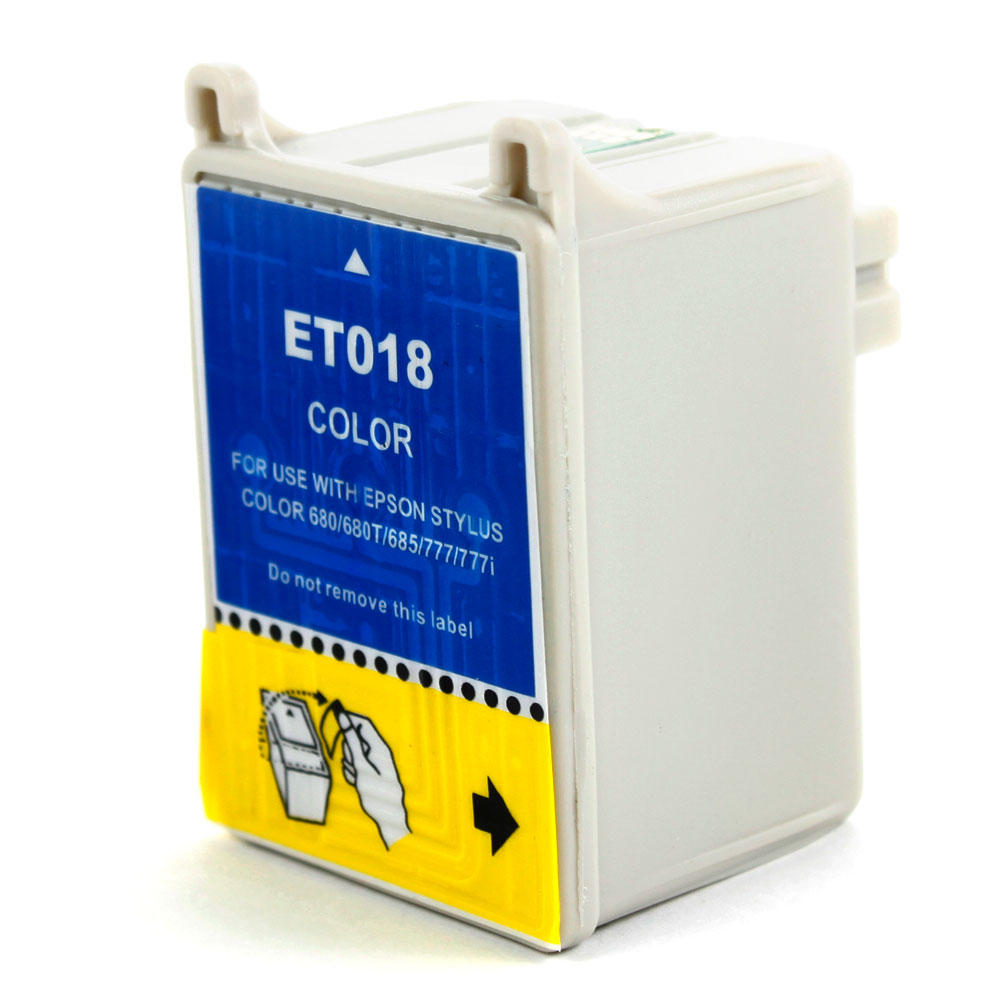 Epson T018201 New Compatible Color Ink Cartridge