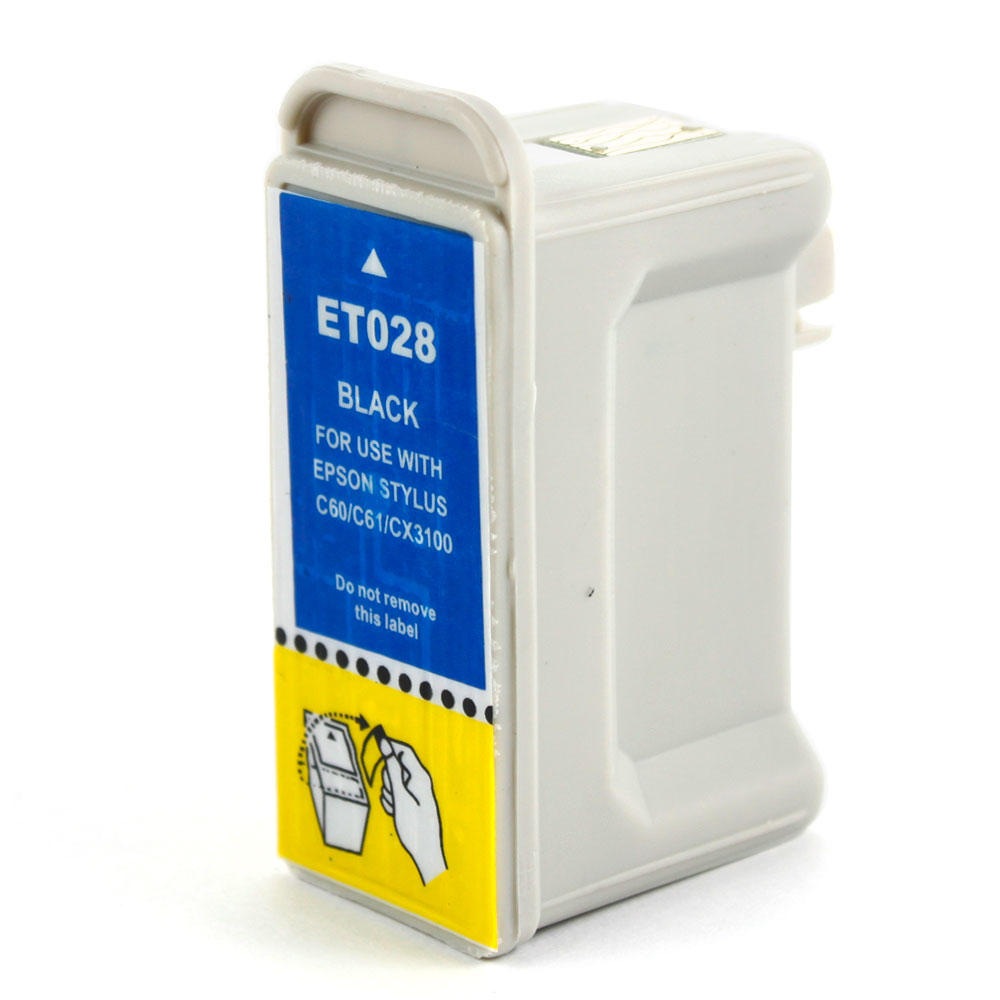 Epson T028201 Compatible Black Ink Cartridge
