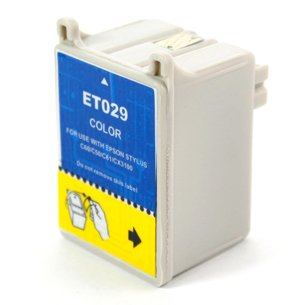 Epson T029201 New Compatible Color Ink Cartridge