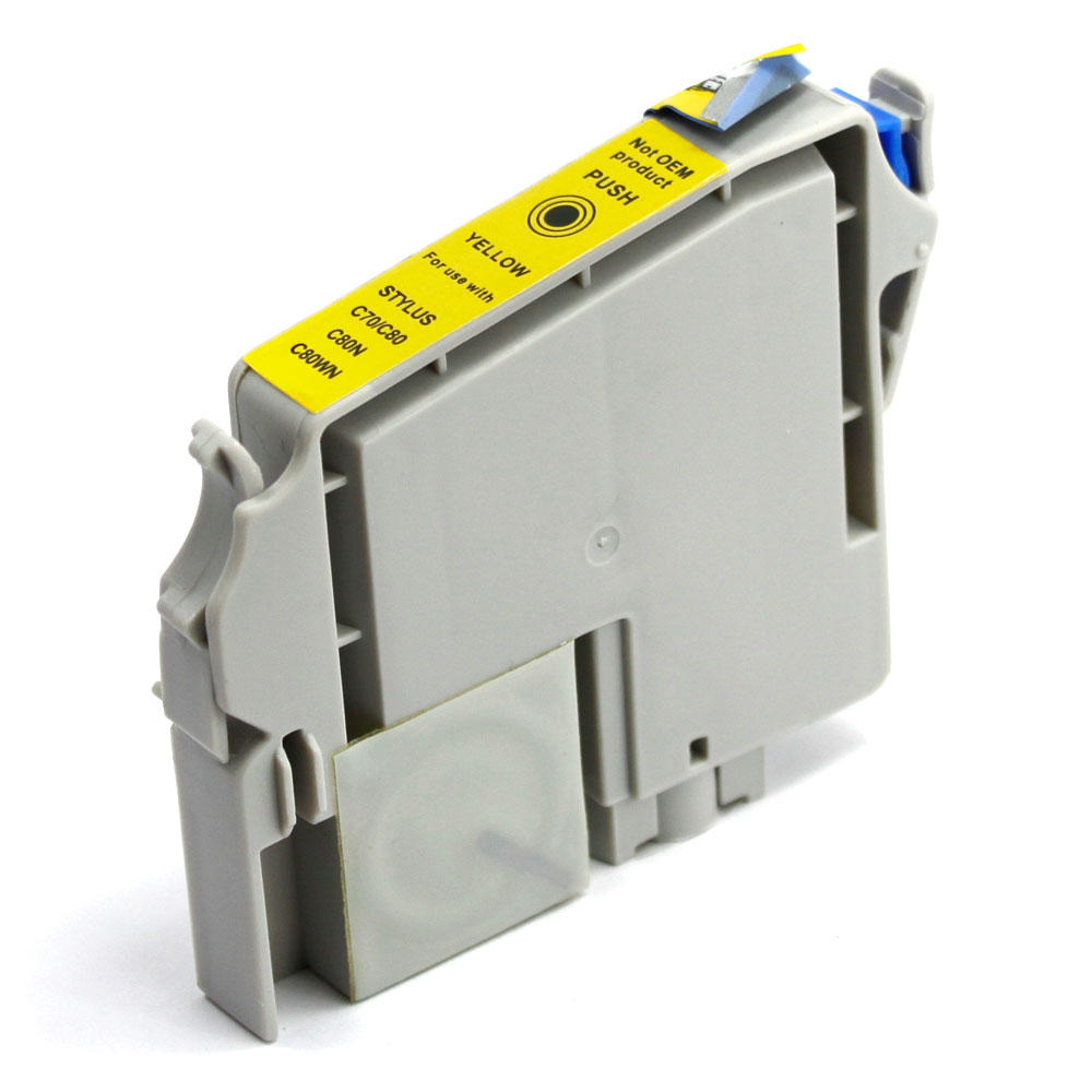 Epson T032420 Compatible Yellow Ink Cartridge