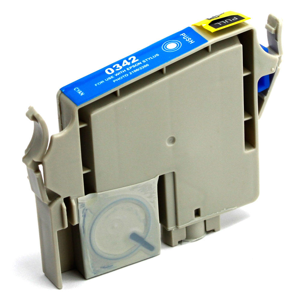 Epson T034220 Compatible Photo Cyan Ink Cartridge