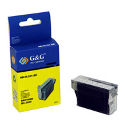 Brother LC01BK Compatible Black Ink Cartridge