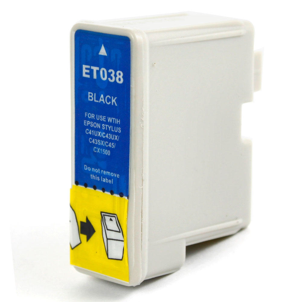 Epson T038120 Compatible Black Ink Cartridge