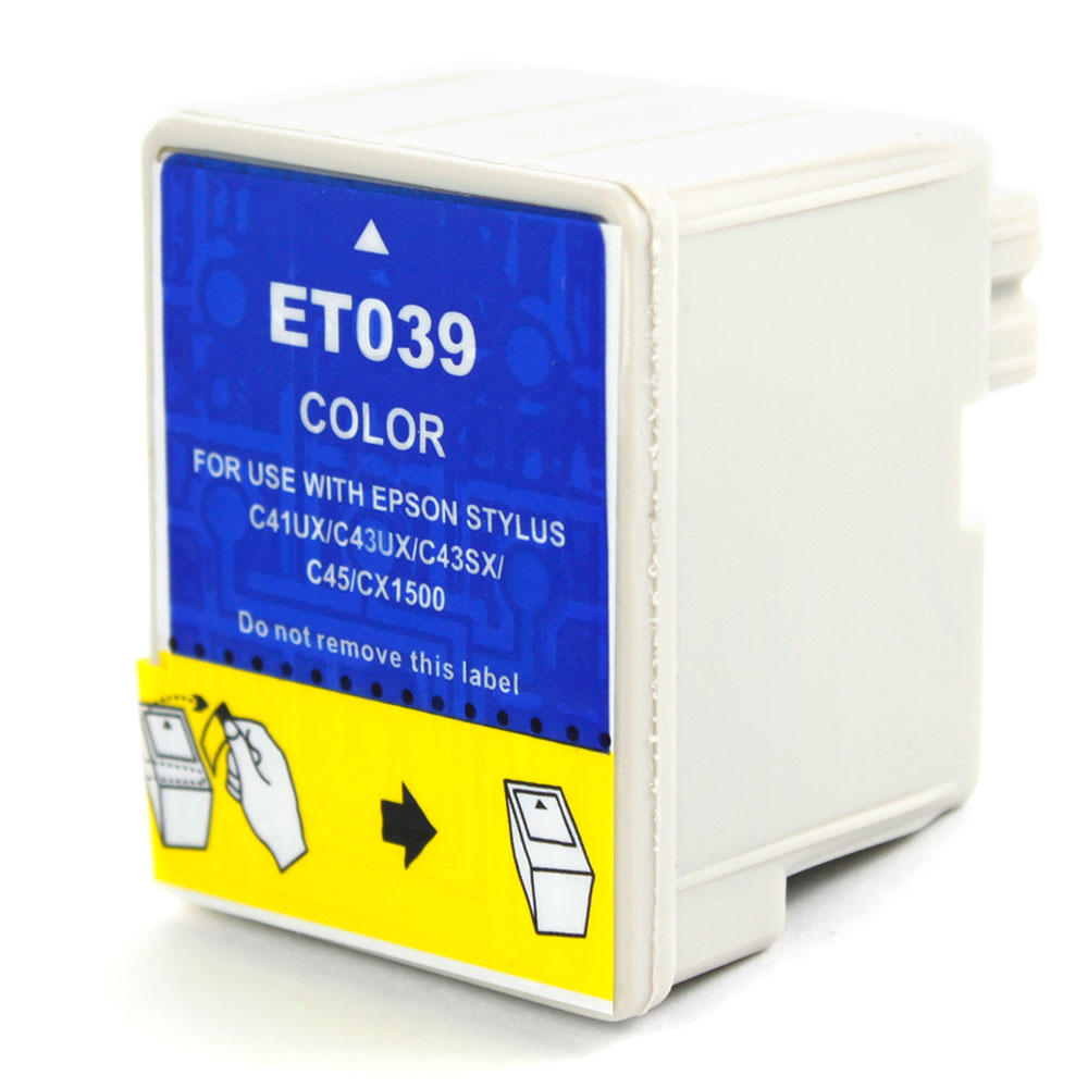 Epson T039020 Compatible Color Ink Cartridge