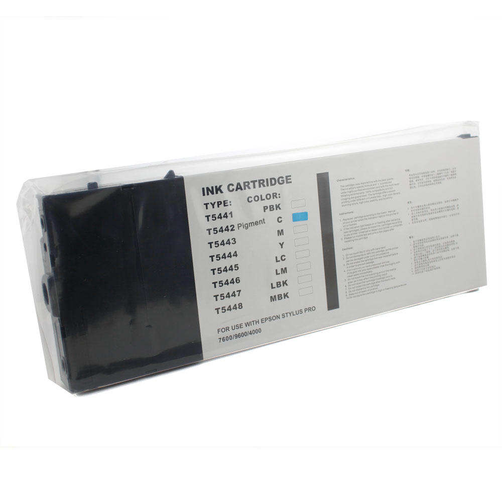 Epson T544200 New Compatible Cyan Ink Cartridge- Pigment Based