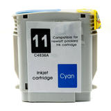 Remanufactured HP 11 C4836A HP 13 C4815A Cyan Ink Cartridge High Yield