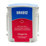 Remanufactured HP 82 C4912A Magenta Ink Cartridge High Yield