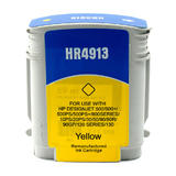 Remanufactured HP 82 C4913A Yellow Ink Cartridge High Yield