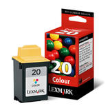 Lexmark 15M0120 (No. 20) Original Color Ink Cartridge