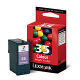 Lexmark 35 18C0035 Original Color Ink Cartridge High Yield