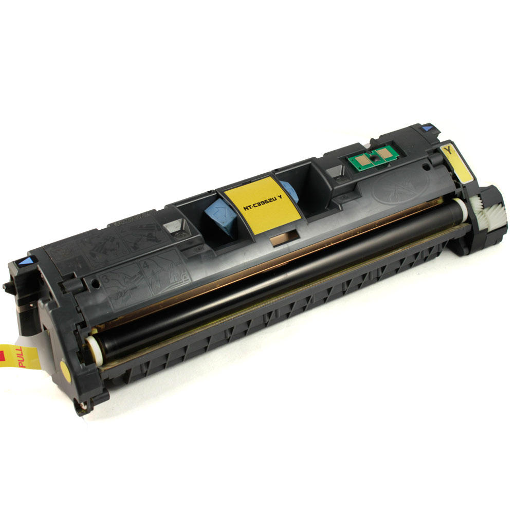 Remanufactured HP 121A C9702A Yellow Toner Cartridge